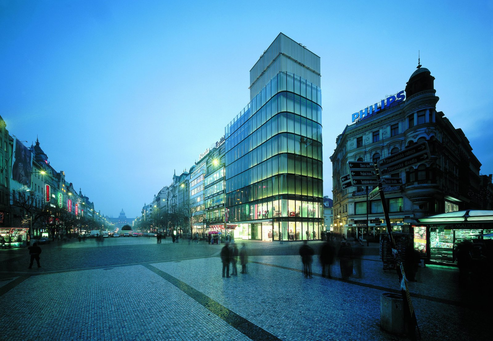 The EURO Palace office building, by DaM.  Photo 1 of 7 in Exhibit Examines Legacy of Functionalist Architecture in Prague