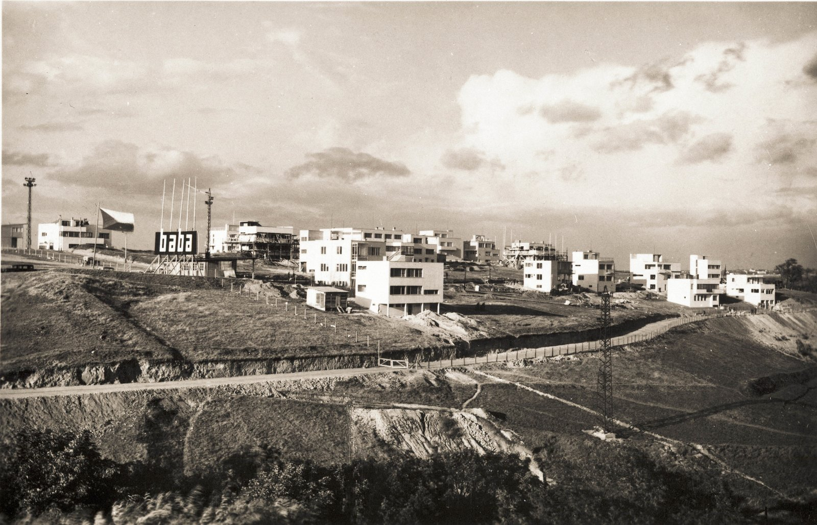 The Baba housing estate.  Photo 4 of 7 in Exhibit Examines Legacy of Functionalist Architecture in Prague