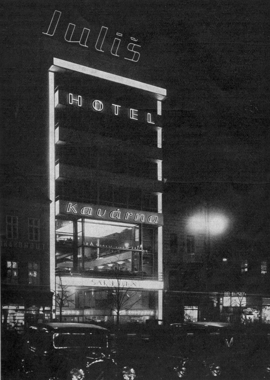The Hotel Julis.  Photo 5 of 7 in Exhibit Examines Legacy of Functionalist Architecture in Prague