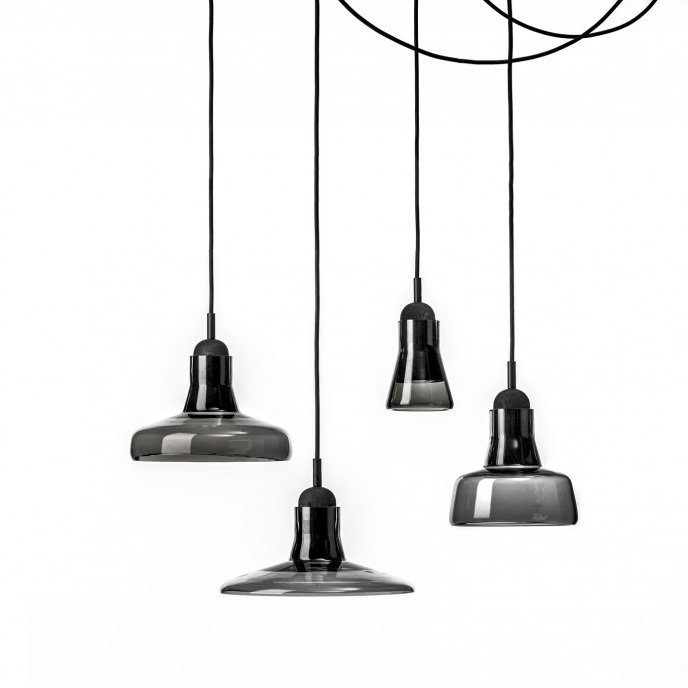 The Shadow light, made in collaboration with Dan Yeffet.  Lighting Fixtures by Lucie Koldova by Jami Smith