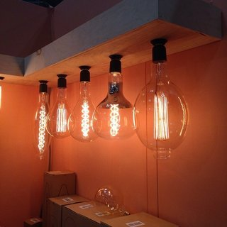 Pick your Edison bulb poison: filaments in creative shapes from Tiab Inc.