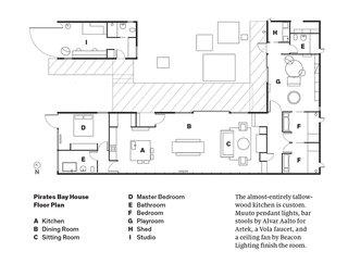 Pirates Bay House Floor Plan