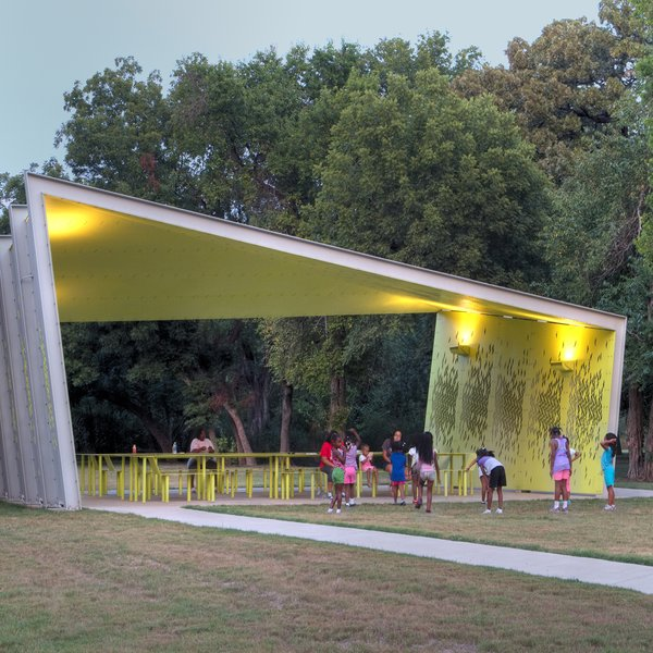 Contemporary Picnic Shelter Google Search: A Modern Park Pavilion Rises In Dallas