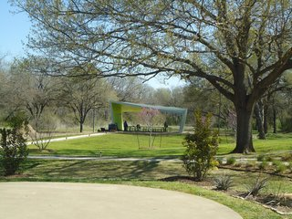 Dallas voters funded the pavilion project by approving bond issues at the ballot box in 2003 and 2006. Photo by Architexas.