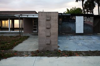 The Twitchell House in Siesta Key, Florida, was built in 1941 for Rudolph's boss, architect Ralph Twitchell. It was torn down in 2007. Photo by Chris Mottalini.