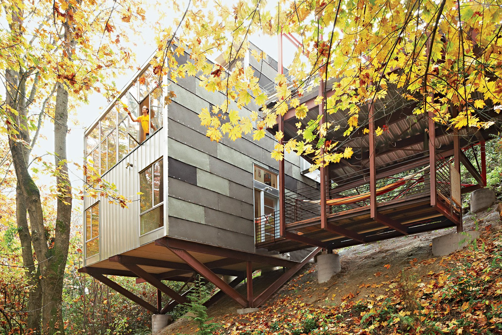 11 Hillside Homes That Feature A Balancing Act With Nature Dwell