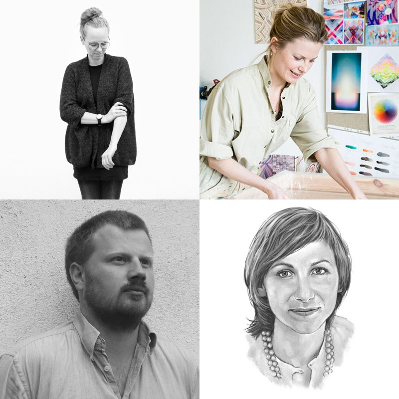 (Clockwise from top left) Christina Liljenberg Halstrøm, Pernille Snedker Hansen of Snedker Studio, Line Depping, and Jakob Jørgensen will appear in New York for the first inaugural Dwell on Desgn NY, in n partnership with the Danish Ministry for Culture and Ministry for Foreign Affairs.  Photo 1 of 9 in Four Danish Designers You Need to Know Now