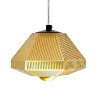 CELL SHORT PENDANT LIGHT  A light that mimics cellular growth which can be used in multiple, geometric configurations. Each Cell Pendant Light is made from layers of finely etched, polished brass filtering light rays to throw a satisfyingly dappled glow casting intricate shadows on walls, floors and ceilings.