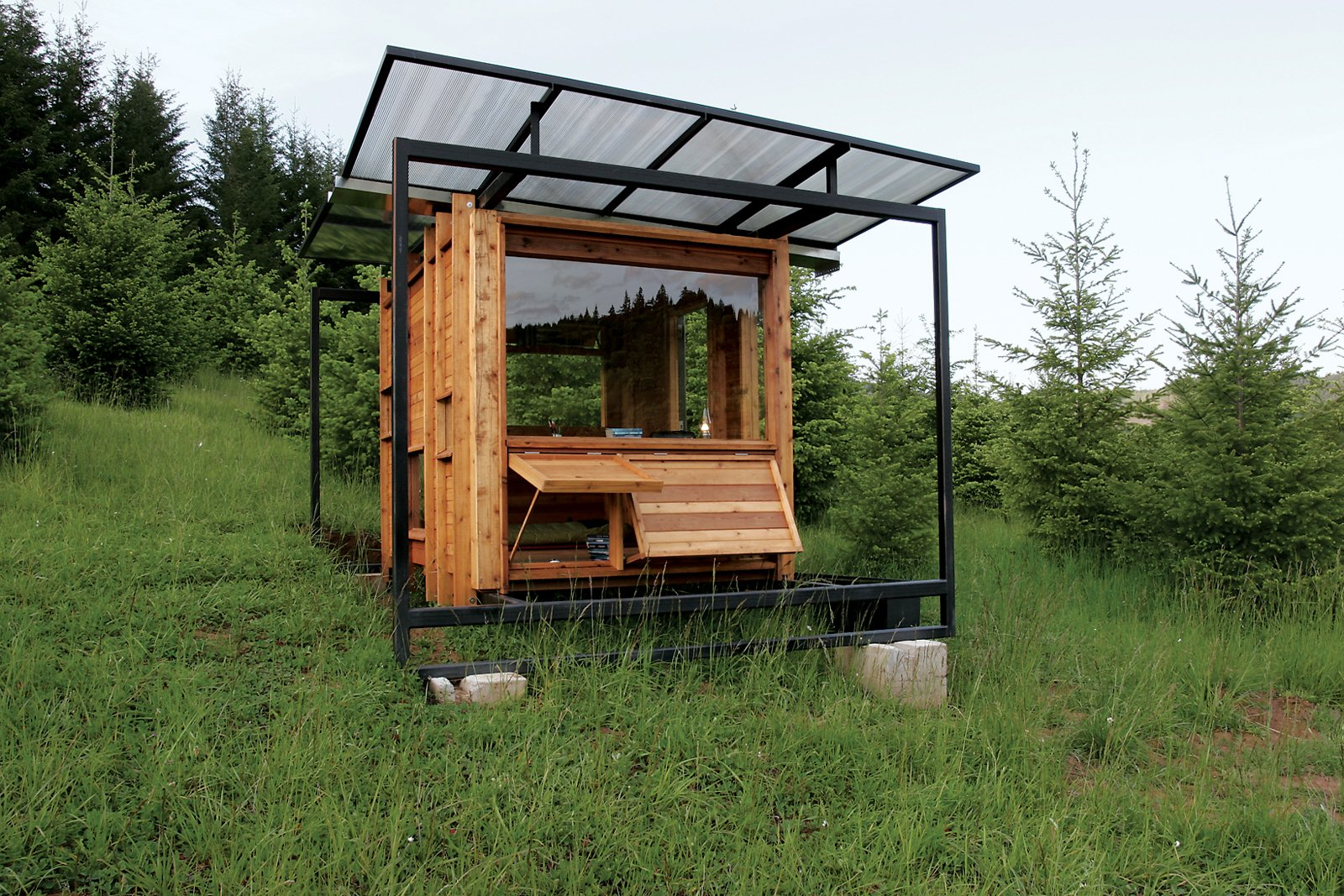 modern cabins exterior tiny home