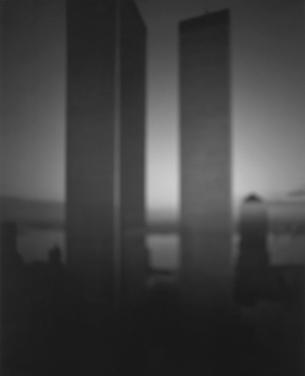 Hiroshi Sugimoto: World Trade Centre (Minoru Yamasaki) (1997)  Stunning Photographs of Modern Architecture by Patrick Sisson