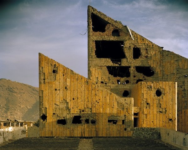 Simon Norfolk: Former Soviet-era 'Palace of Culture', Kabul (2001 - 02)