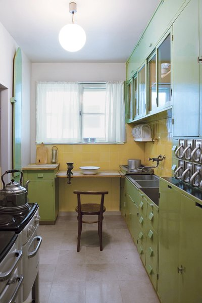 The Frankfurt kitchen, designed by Austrian architect Margarete Schütte-Lihotzky, was one of the first kitchens designed as a complete and efficient system.  Photo 1 of 7 in An Introduction to Kitchen Design