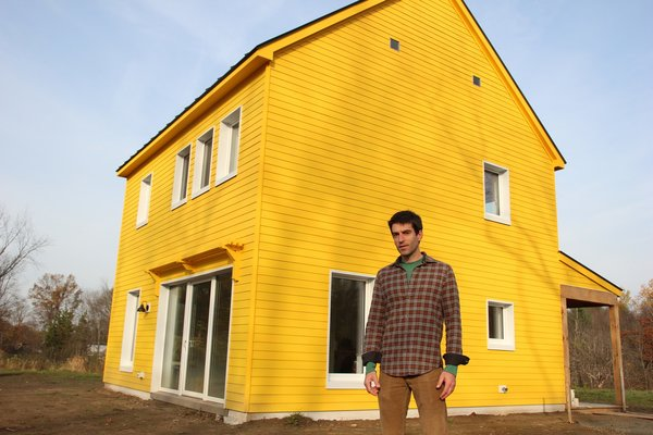 Arango worked with Maine-based firm GO Logic on the design and construction of the house.