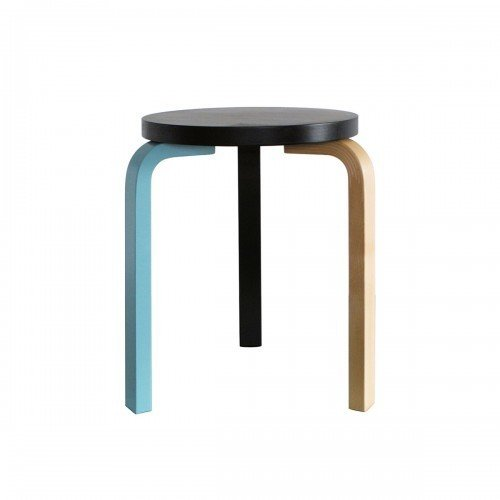 "German Artist's Mike Meiré's version of the Artek Stool 60 gives the iconic stool some pop. $390  Search ""diningfurniture--stools"" from Editor's Picks from the Dwell Store"