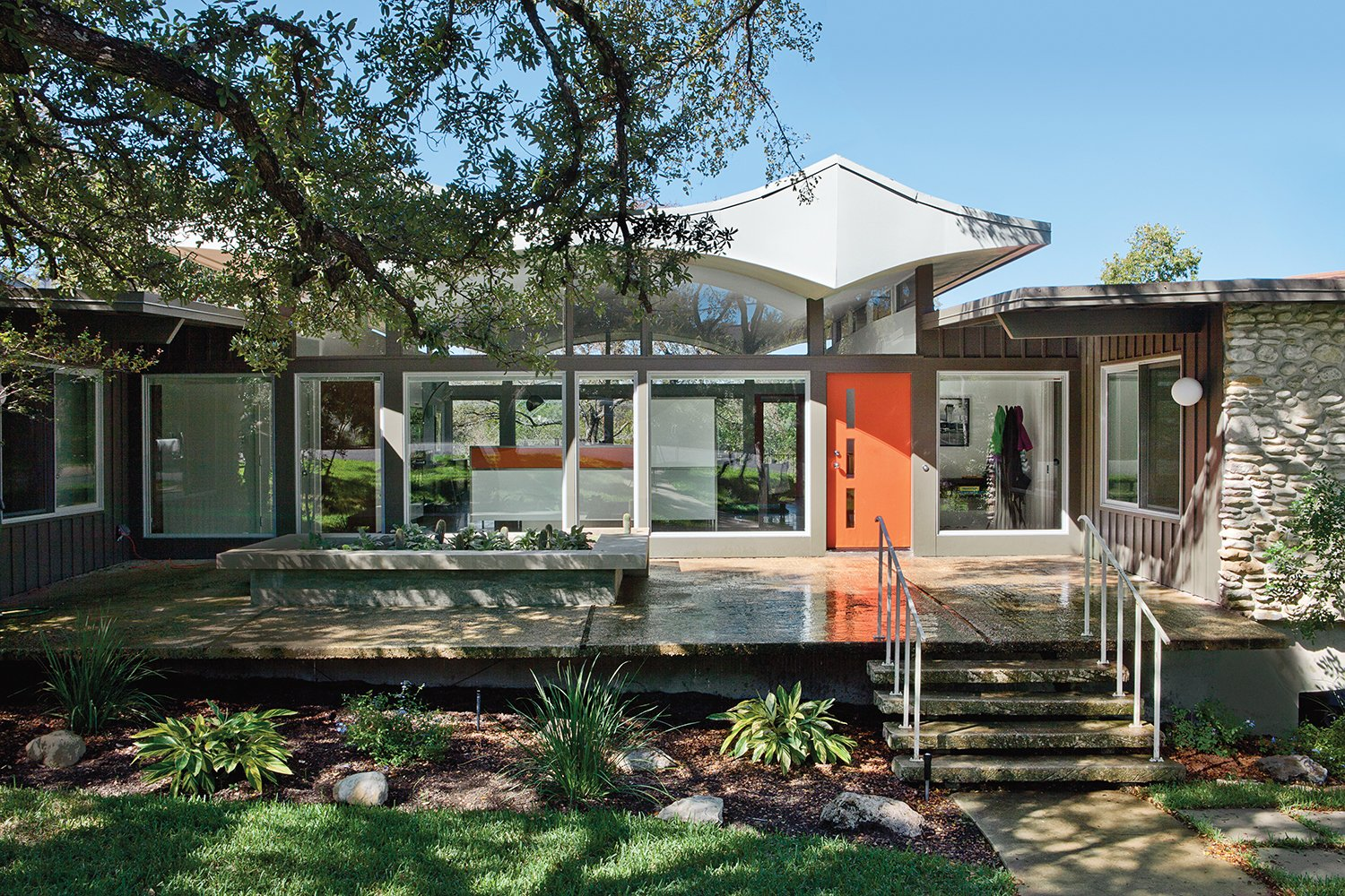 Articles about renovated midcentury gem austin on Dwell.com