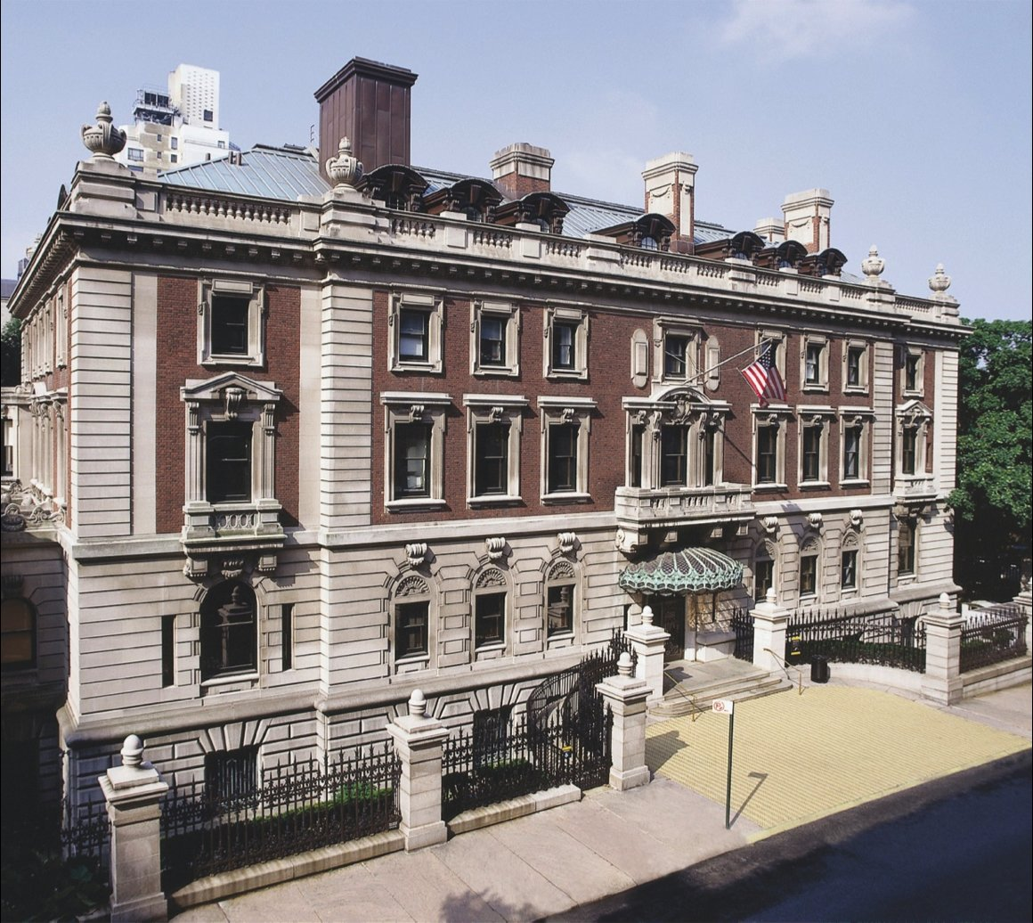 The Cooper-Hewitt National Design Museum is located in the historic Carnegie Mansion, built at the beginning of the twentieth century.  Photo 1 of 2 in Cooper-Hewitt National Design Museum Renovation