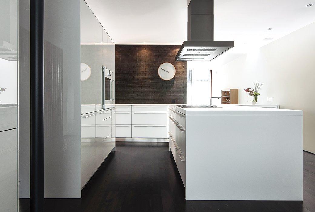 White Brick Kitchen Toronto