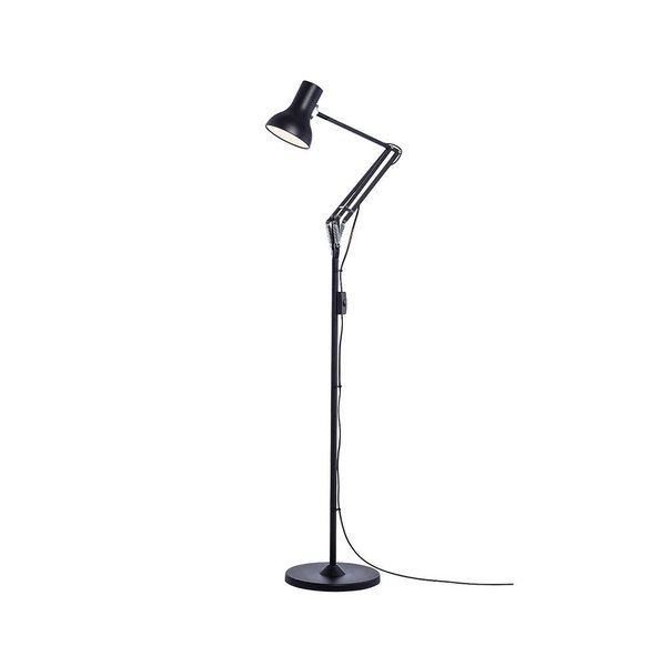 The Type 75 Mini Floor Lamp is an elegant floor light designed with small spaces in mind. The Mini is a high performance fixture that diffuses strong, soft lighting, and it is ideal for a reading corner or home office. It is available in soft and bold colors.