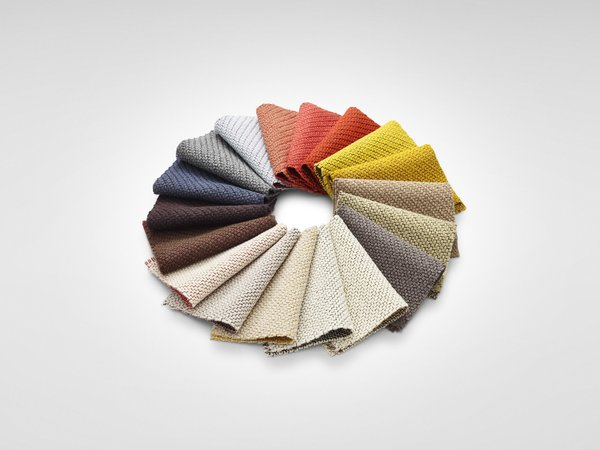 Coda fabric by Kvadrat with new coloring by Anderssen & Voll (2013)
