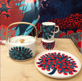 @coolhunting: Spring '15 tableware from Finnish design house @Marimekkoglobal on display @dwellmagazine's #dwellondesign