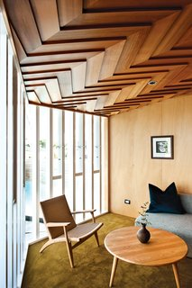 House of the Week: Striking Wooden Ceiling in New Zealand