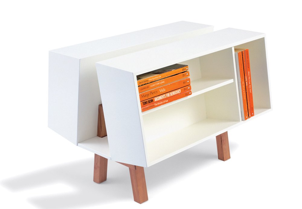 Penguin Donkey 2 book caddy by Ernest Race (1963) for Isokon (£570 at Skandium)  Photo 2 of 2 in High/Low: Modern Classic Isokon Bookcase