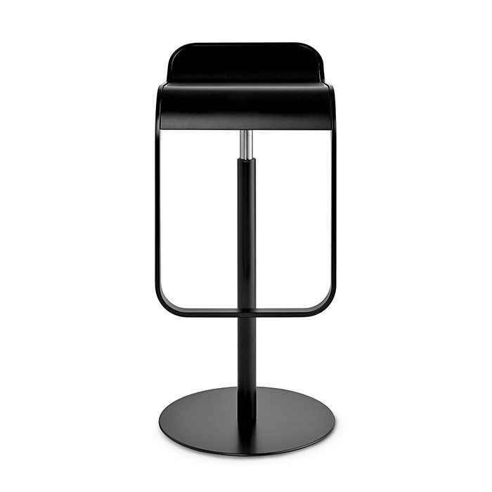 LEM Piston stool by Shin and Tomoko Azumi for Design Within Reach, $750  The classic LEM—shown in a lacquered wood version—is tricked out with all the bells and whistles we like to see in a bar stool. It swivels to make sliding in and out easy. The sleek seat toggles between counter height (26 inches) and bar height (31 inches). Plus, the footrest is on the same vertical plane as the deep seat's edge—a must for balance.  Photo 2 of 8 in How to Find the Perfect Modern Bar Stool