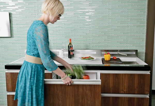 Clever Concept Tackles Movement Toward Smaller Kitchens