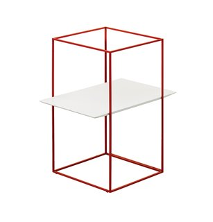 TT by Ron Gilad for Adele-C, $500  The removable tray inside a wire frame seems to float within a minimalist cage. adele-c.it