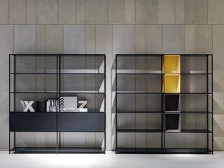 Minima 3.0 Storage System by Fattorini + Rizzini + Partners srl, produced by MDF Italia.