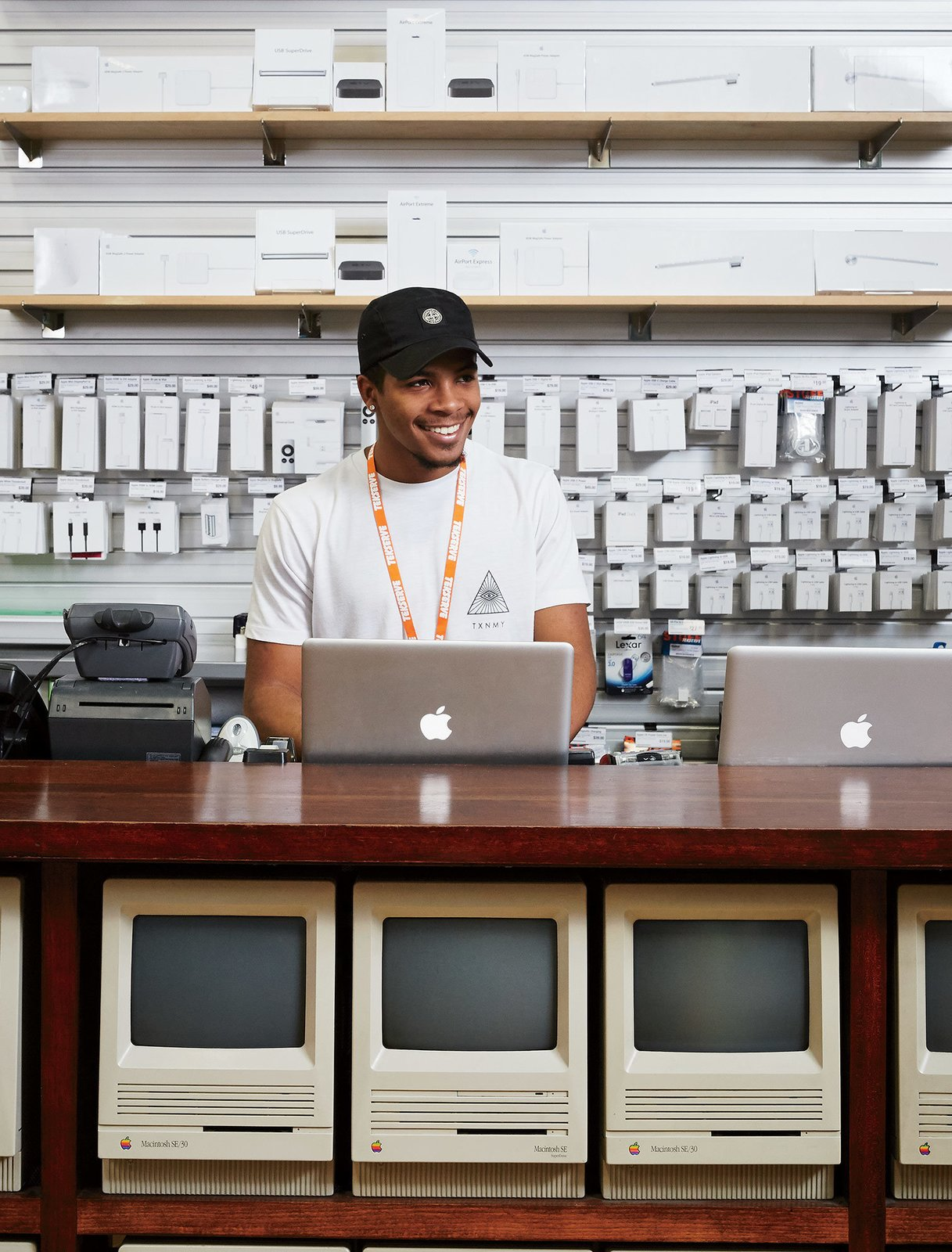 Their location just below midtown, where they've been since 2002, occupies 20,000 square feet and includes a walk-through retail space that spans 23rd to 24th Streets.  Photo 3 of 7 in Meet the Tech Shop That's Been Fixing Macs Longer Than the Apple Store