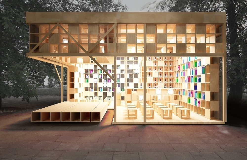Innovative Outdoor Libraries in Russia by Jacqueline Leahy