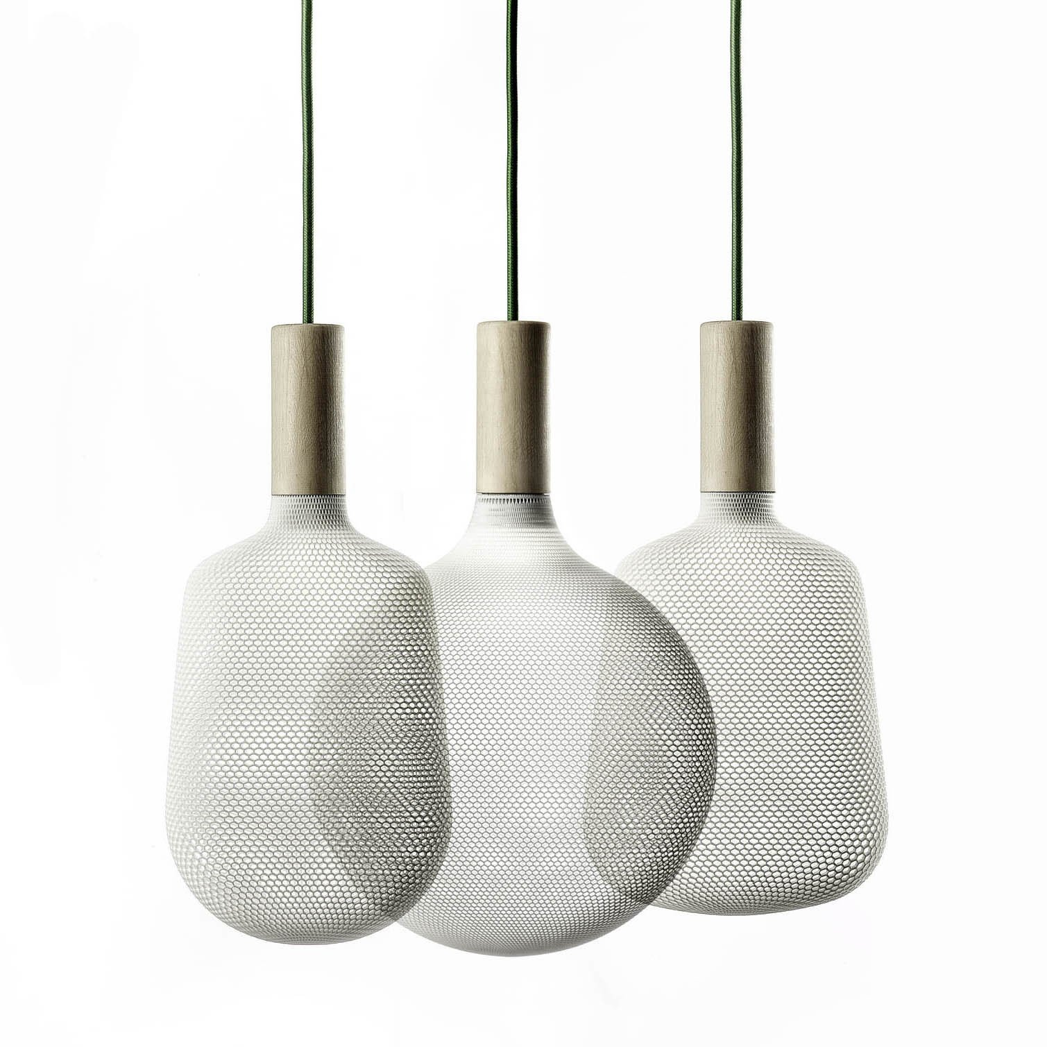 Afillia by Alessandro Zambelli for exnovo.  3D Printed Lighting by Exnovo by Diana Budds