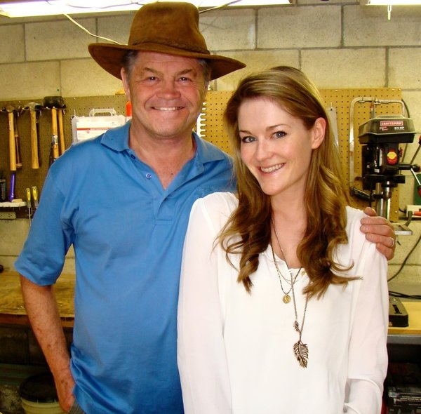 Georgia and Micky Dolenz will appear at Dwell on Design in Los Angeles this May to discuss their family furniture venture.