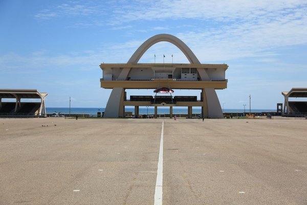 Independence Arch. 1961. Designed by the Public Works Departments. Accra, Ghana.