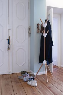 French designer Pauline Deltour, part of our Young Guns class of 2013, is behind this coat rack, which packs flat—a boon for frequent movers.