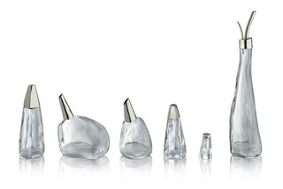 Peter Zumthor, the Swiss architect who won the Pritzker Prize in 2009, developed this line of condiment vessels.