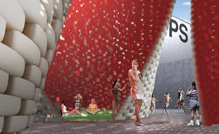 Carbon-Neutral Brick Tower Coming to MoMA's PS1 This Summer - Photo 4 of 5 -
