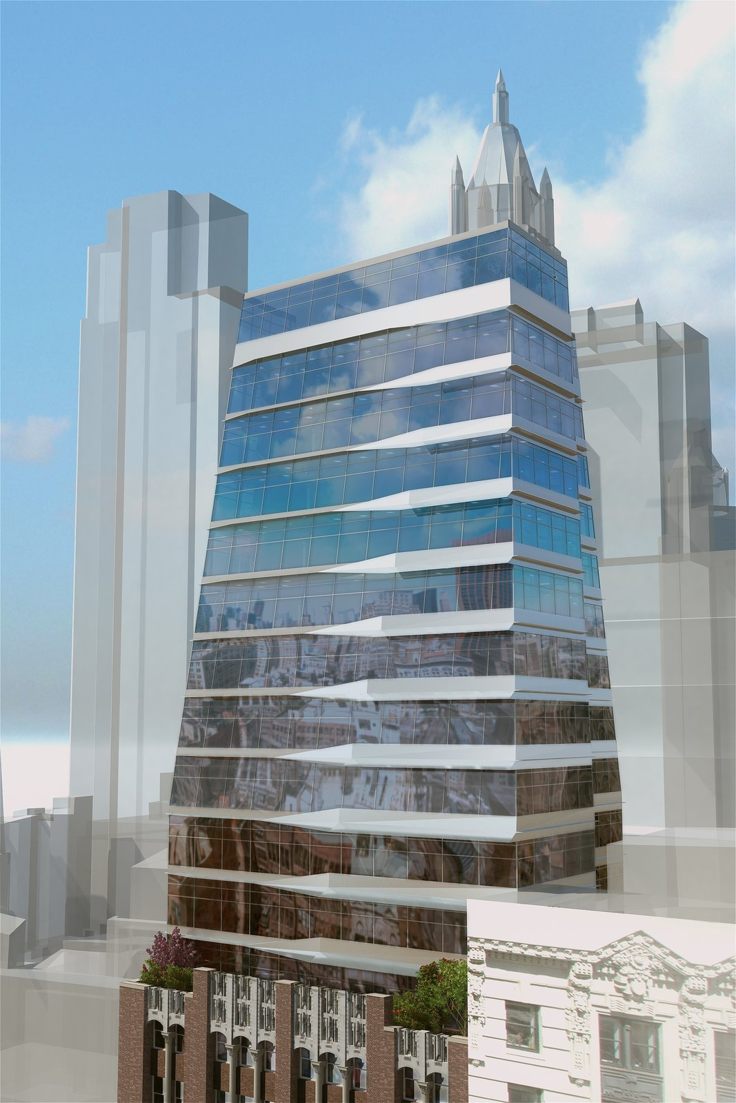 17 John will combine two architectural styles with the addition of the glass tower. Photo courtesy Prodigy Network.  Photo 2 of 7 in Rodrigo Nino Wants to Crowdfund Your Next Hotel