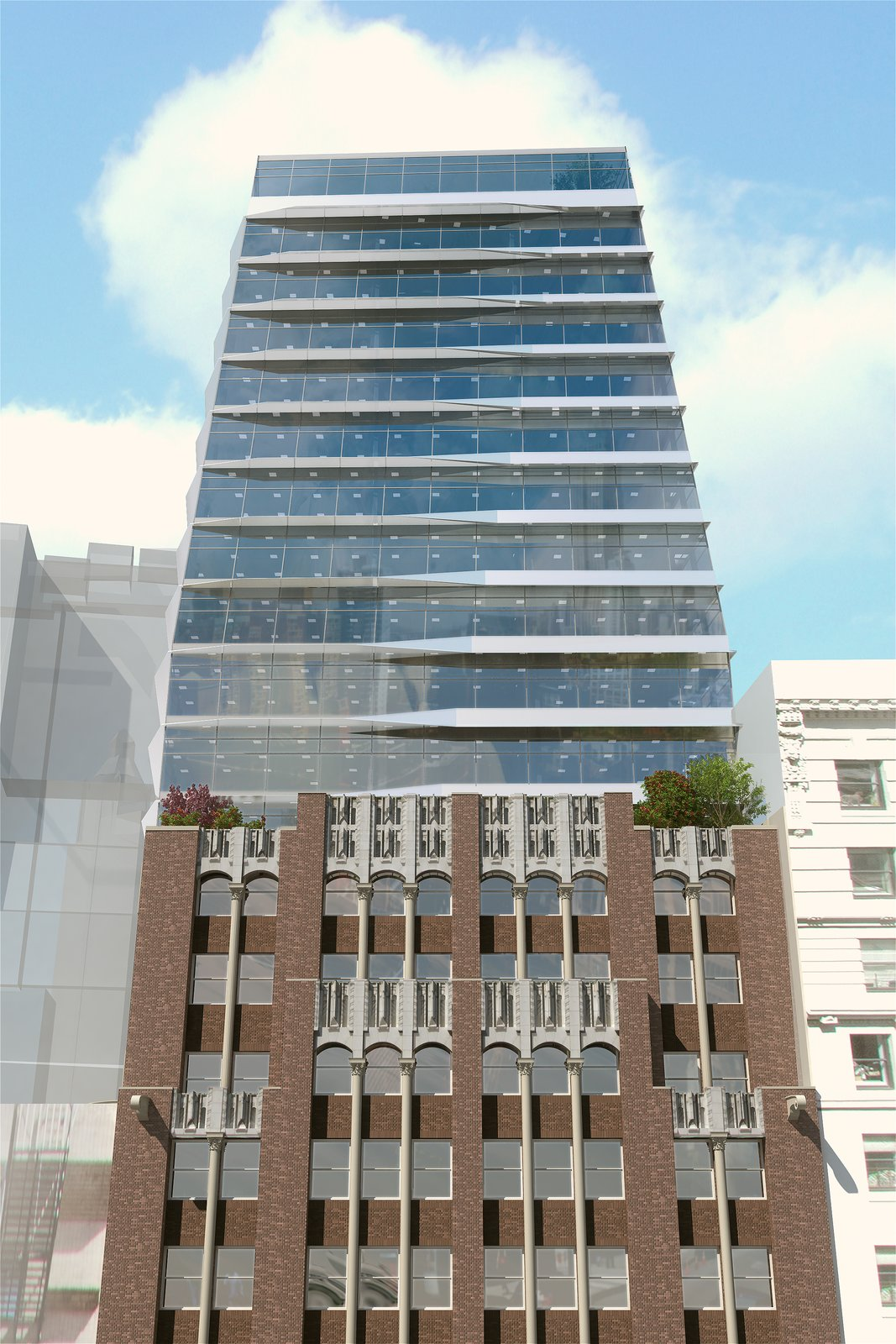17 John will be a beacon of glass in the heart of Manhattan's financial district. Photo courtesy Prodigy Network.  Photo 4 of 7 in Rodrigo Nino Wants to Crowdfund Your Next Hotel
