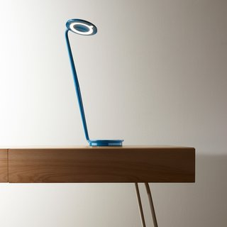The Pixo Desk Lamp is a consistent Dwell Store best seller. Designed by Pablo and Fernando Pardo with sustainability in mind, the lamp was created with a small footprint and a compact, energy-saving LED light. The ultra-efficient lamp features a swiveling light shade that makes it easy to focus and redirect light as needed.   The Pixo Desk Lamp is currently on sale for 15% off at the Dwell Store until 10/23/2014.