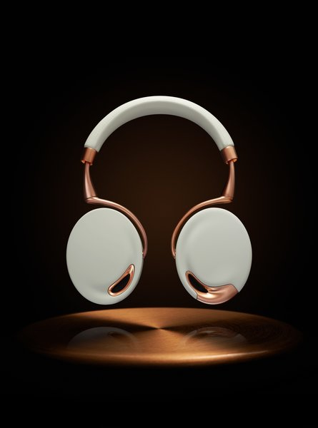 Zik Headphones -- Parrot (2012)  Audiophiles appreciate the sound quality and intuitive, motion-sensitive commands -- swipe the right earcup to increase the volume, take of the headphones and the music pauses-- built into this high-end headphones. Design fans will be equally engrossed with the generous curves and shapely form in Starck's creation.