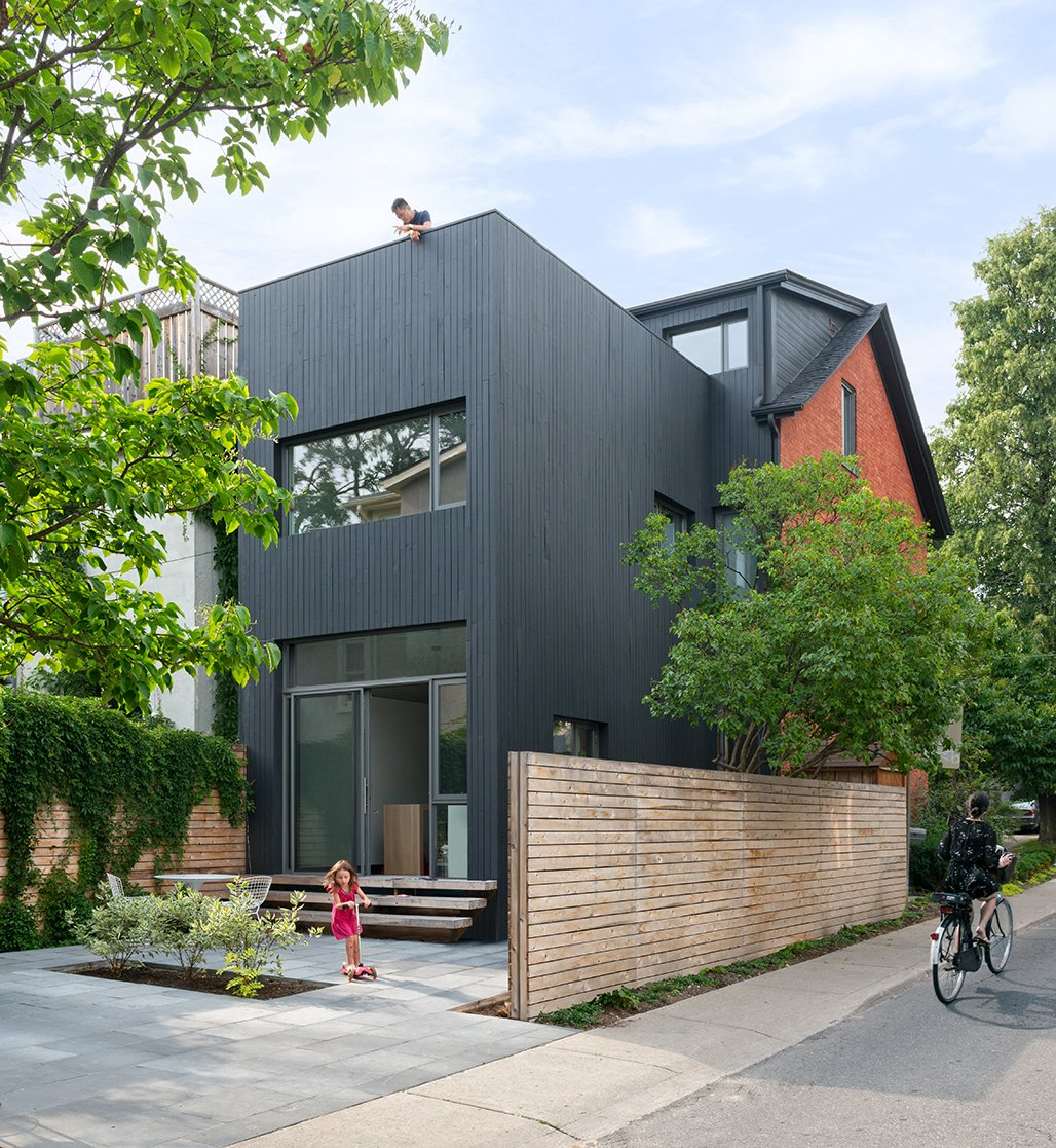 30 Contemporary Home Exterior Design Ideas: Photo 22 Of 30 In 30 All-Black Exterior Modern Homes From