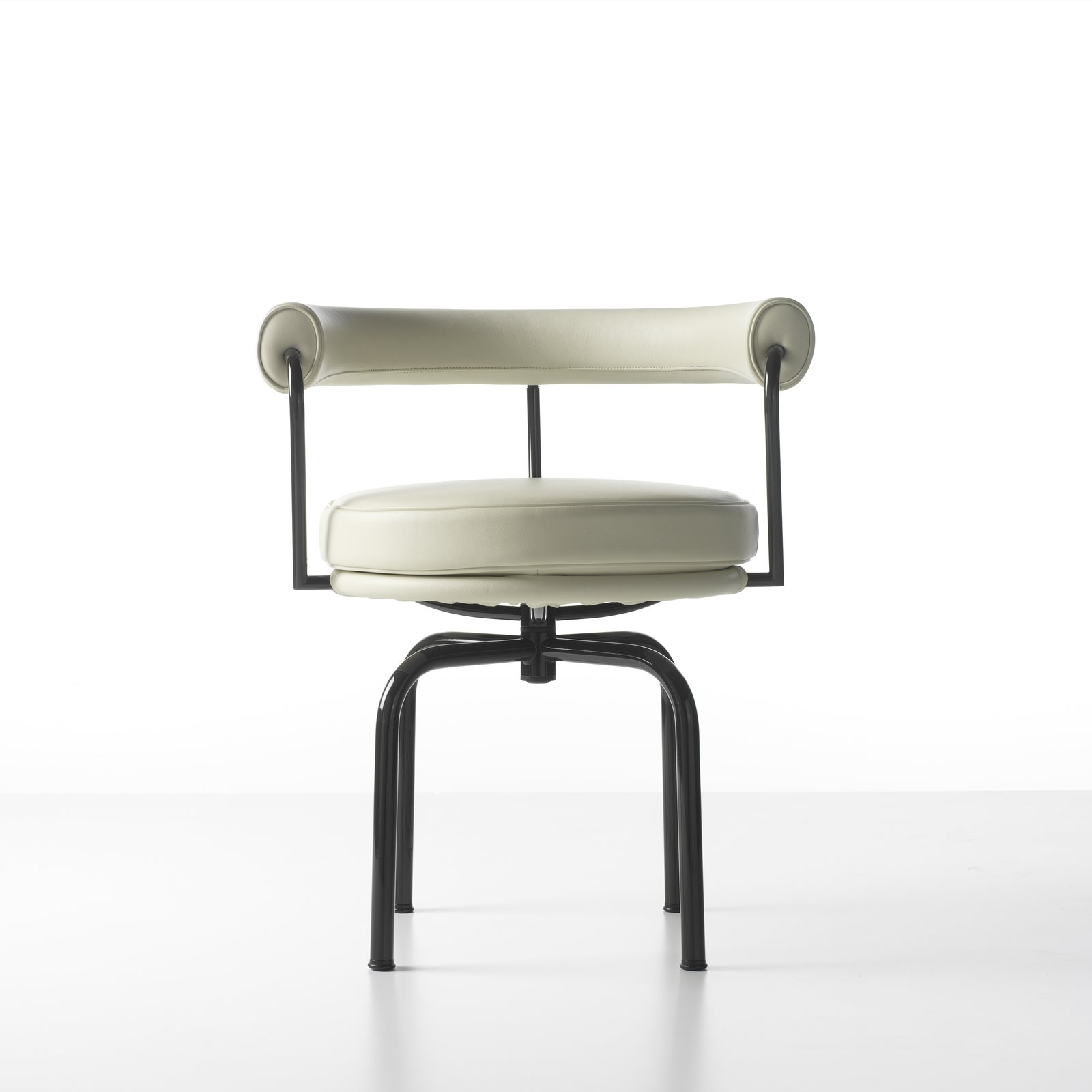 Perriand's spin on an office chair demonstrated her ability to integrate stark elements (the metal frame) while respecting the chair's owner (cushions resting on coil springs). A wooden prototype Perriand developed while in what was then called Indo-China in 1943 was recently reissued by Cassina.  Photo 3 of 8 in Design Icon: Charlotte Perriand