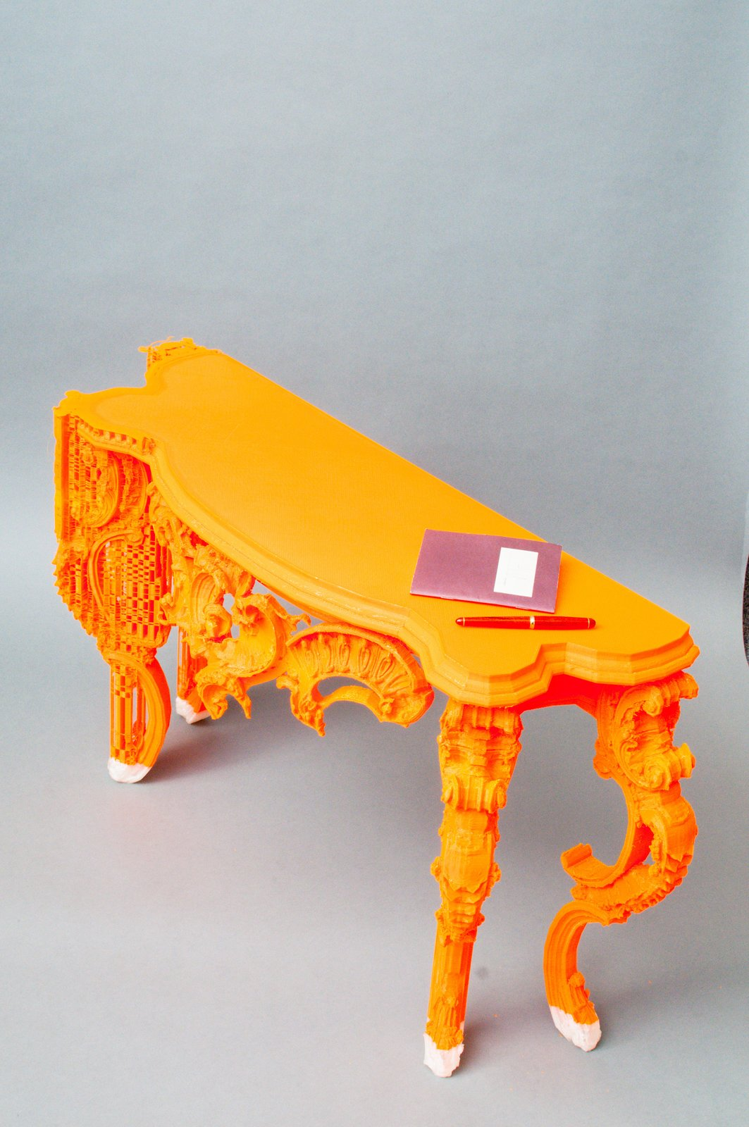 Sideboard designed and fabricated with BigRep Printer.  Photo 1 of 6 in Want the Perfect Chair? Print It