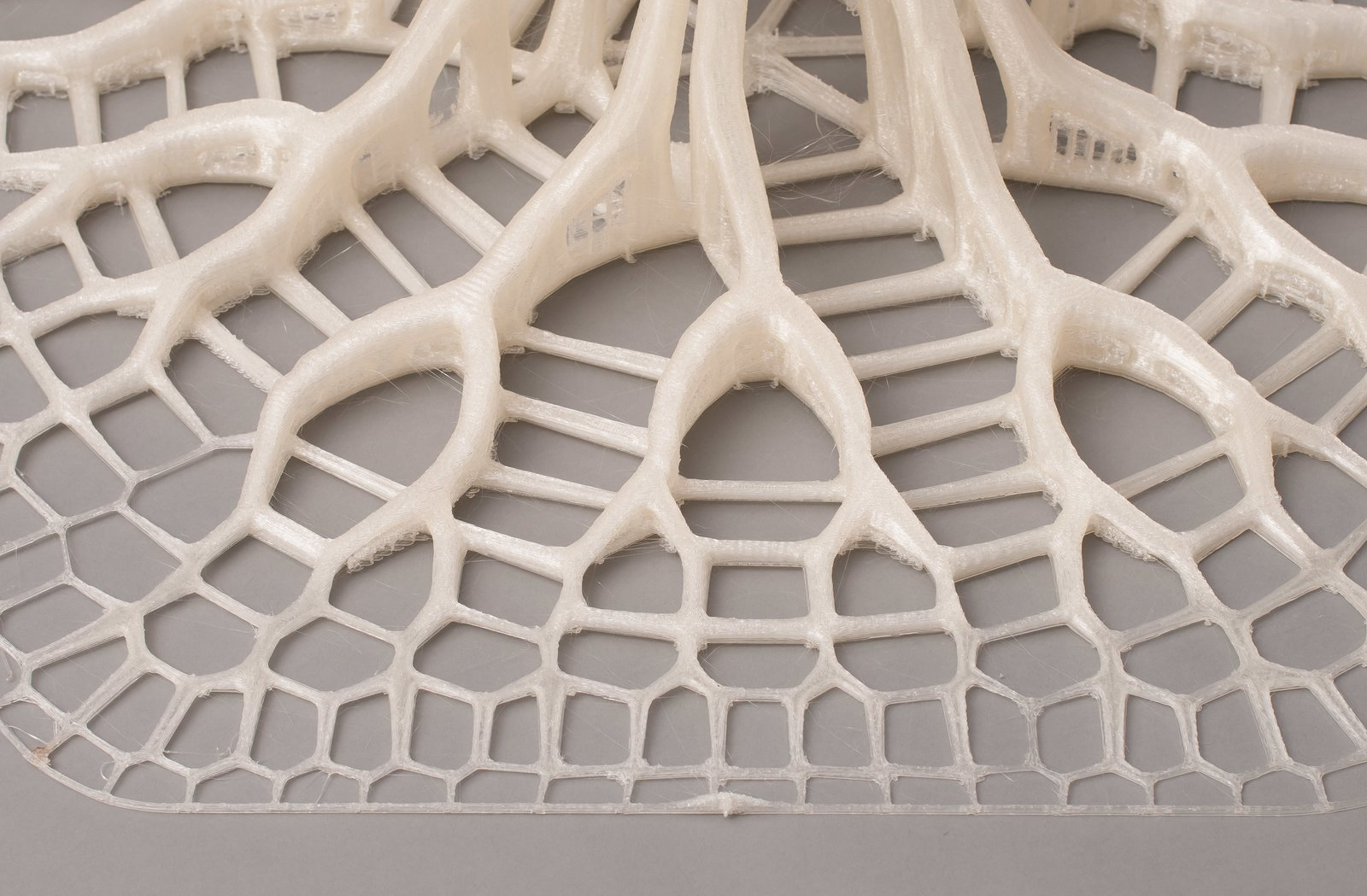 Advanced computer programs and 3-D printing allow for complex pattern replication in the finished product.  Photo 5 of 6 in Want the Perfect Chair? Print It