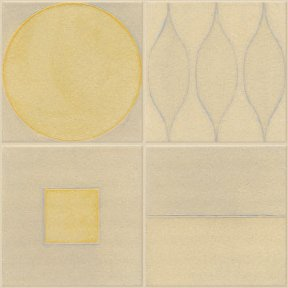 Instinct tile from the Lowitz & Company studio is made of stoneware clay and glazed with colored glass. Shown glazed in Moonlight, Shadow, Driftwood, Sunlight and Marigold, the tiles are long-lasting and can help projects qualify for LEED credits.  Eco-Friendly Tile Designs for Spring by Jacqueline Leahy