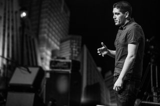 Ian Murchison, co-founder of the Federal, onstage at Design Indaba. Image courtesy of Design Indaba.