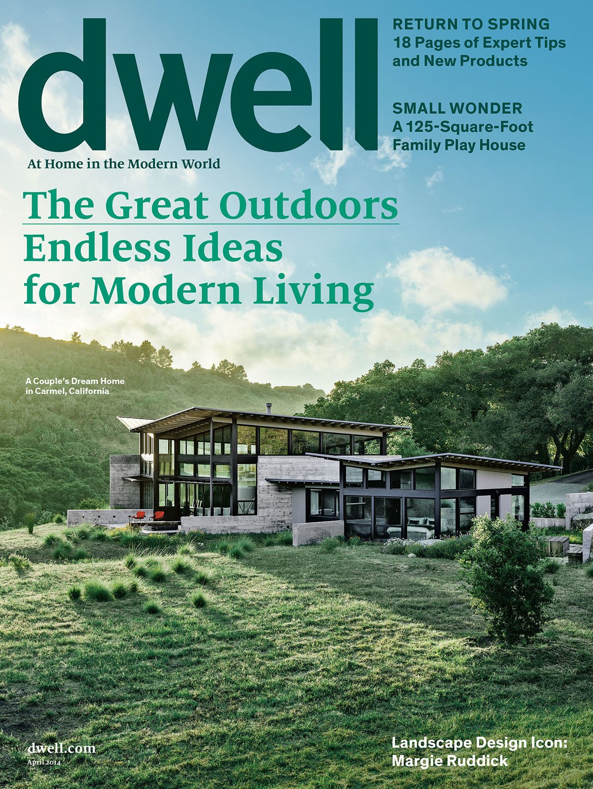 """Search """"great idea"""" from Dwell April 2014, Vol. 14 Issue 05: The Great Outdoors"""