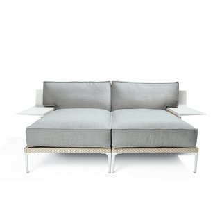 Rayn sofa by Philippe Starck for Dedon, from $6,500  The exuberant French designer may have been inspired by Surrealism, but his plush modular sofa is a practical choice for a covered terrace.